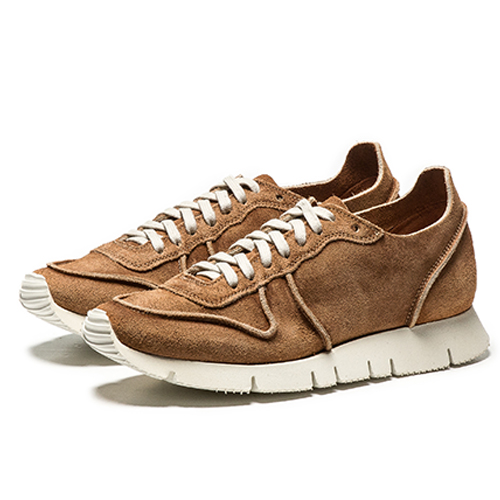 WOMEN'S Tannery washed Carrera F1 Low_brown